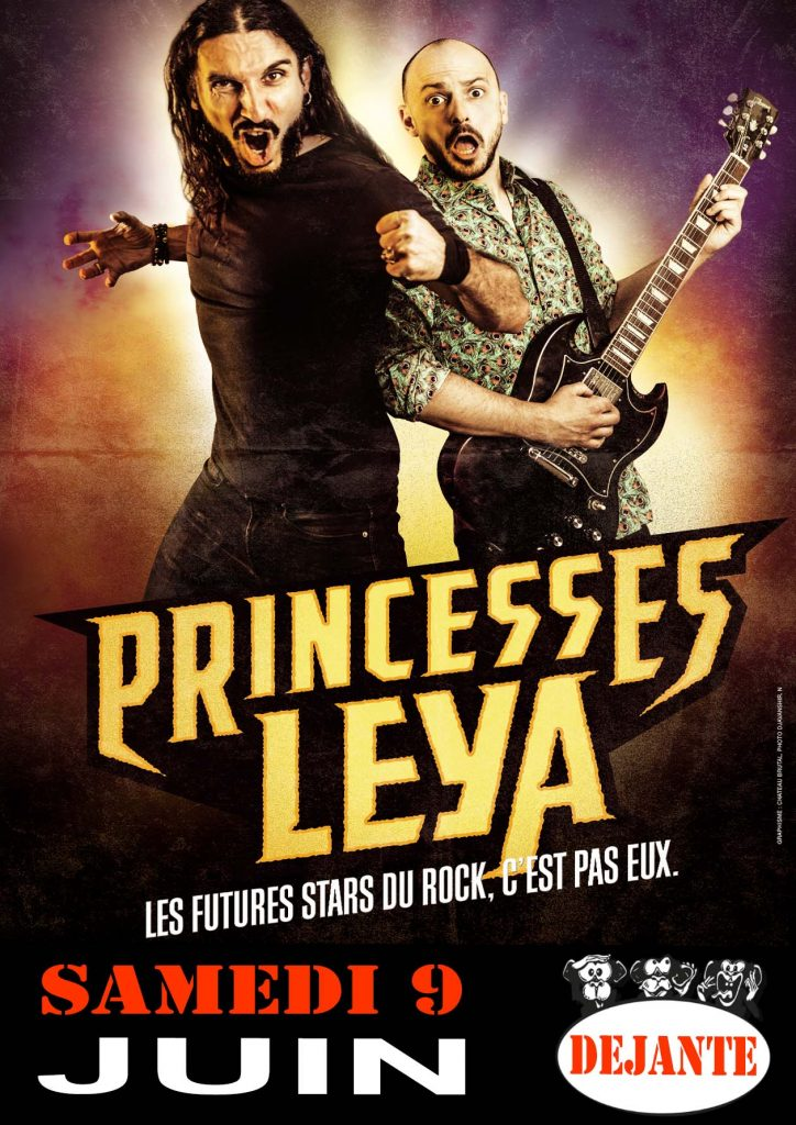 princesses leya la premi re com die musicale metal la baie des singes. Black Bedroom Furniture Sets. Home Design Ideas